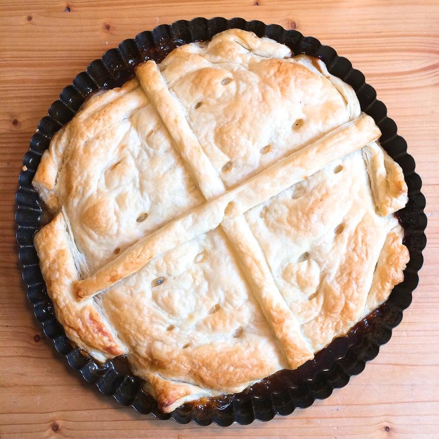 Chicory tart (vegetarian)