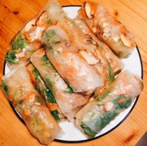 Vietnamese spring rolls 5