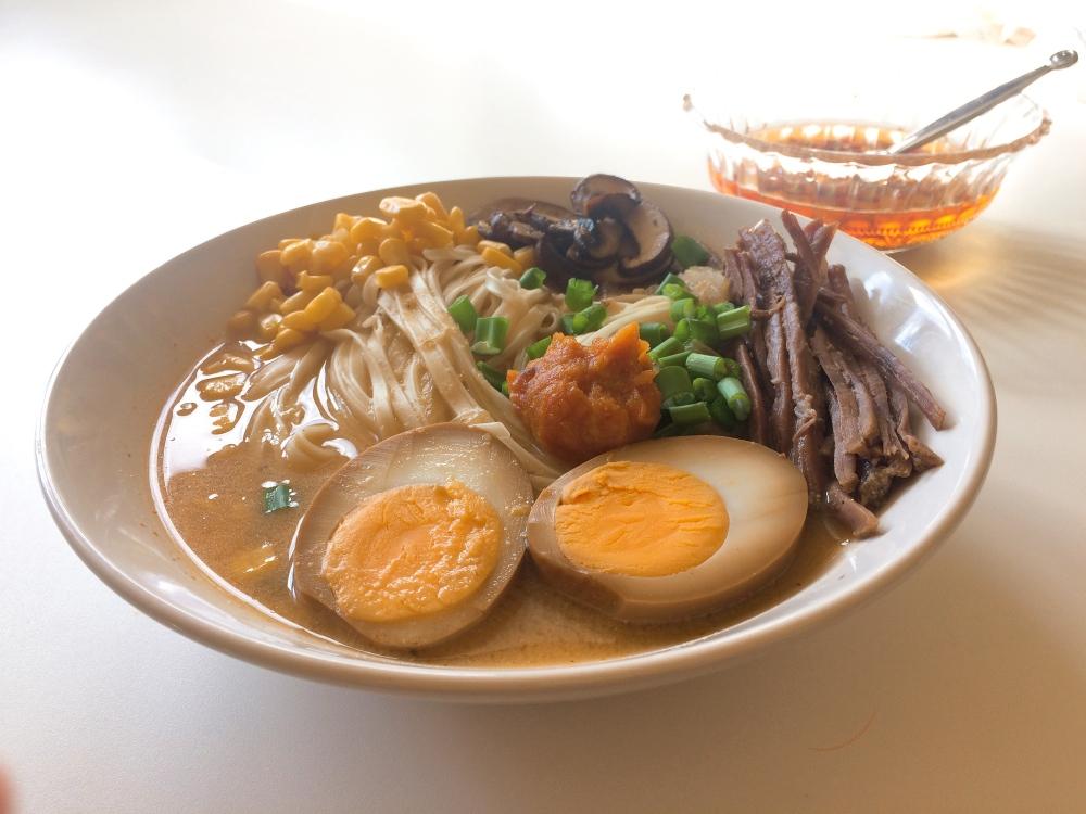 Spicy miso ramen 4